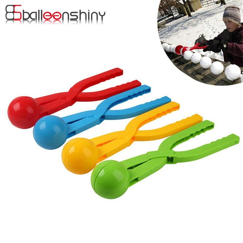 Balleenshiny игры на открытом воздухе, Детская снежный шар производители 36 см снег совок детская зимняя бороться игры Забавные clip Sport Инструменты ... ...