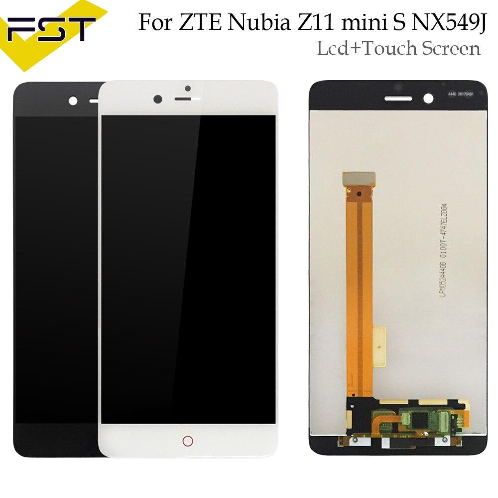 Para ZTE nubia NX549J Z11 mini S Display LCD e de Toque tela de 5.2 ''Para ZTE nubia NX549J Z11 mini S + Ferramentas E adesivo