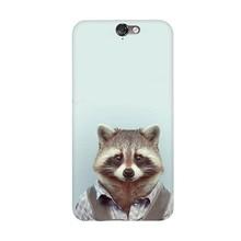 Fashion Man Shape Animal Funny Cool Arrival UV Black Bag Case For HTC A9