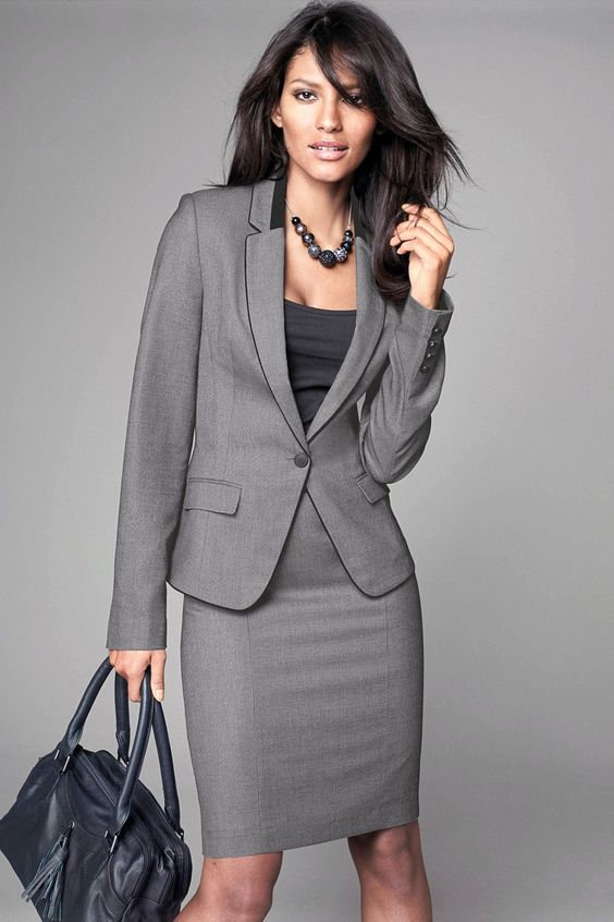 Women Skirt Suits - Skirts