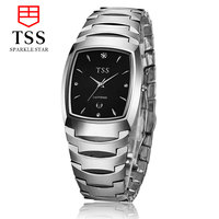 TSS lover couple series tungsten steel fashion watches fashion watches men fashion business men table waterproof couple watches
