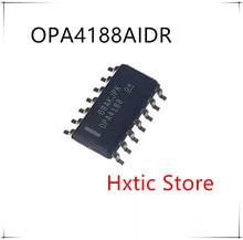 NEW  10 PCS/LOT OPA4188AIDR  OPA4188A OPA4188 sop-14