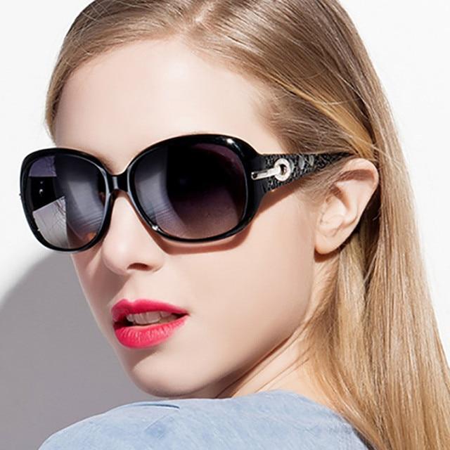 Vintage Fashion Hollow Frame Oversized Sungasses For Women High-end New Brand Female Sun Glasses Eyewears 4