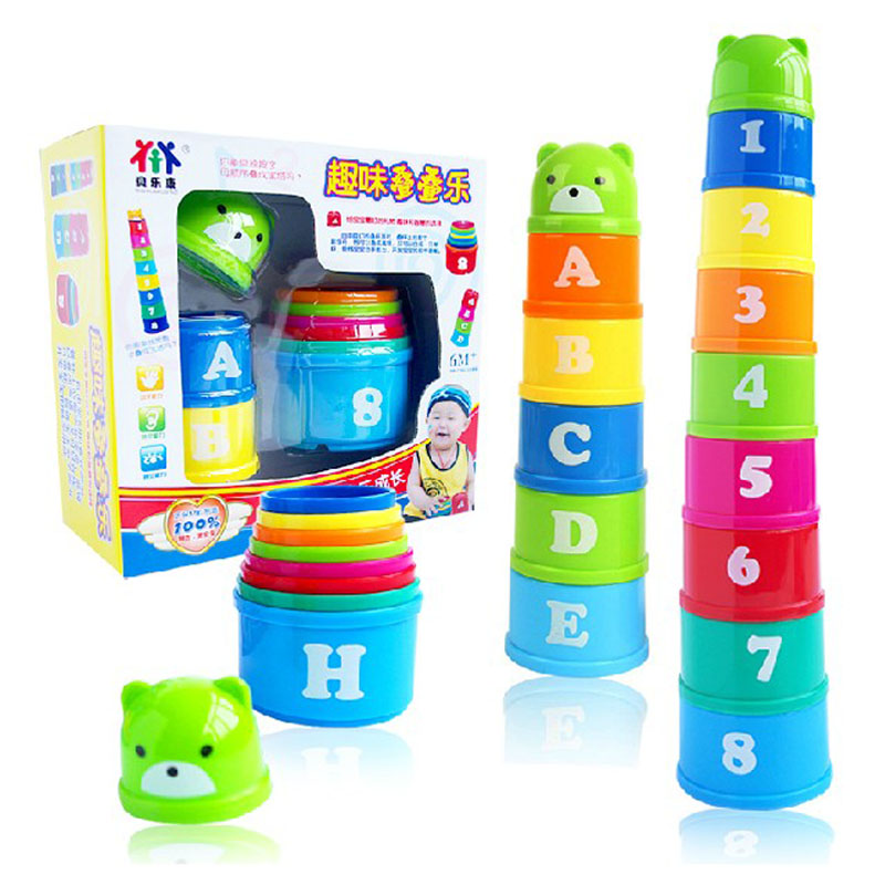 Magic speed flying stack cup jenga knowing the numbers and letters  Eductional sport stacking toys for kids brand new yuxin zhisheng huanglong high bright stickerless 9x9x9 speed magic cube puzzle game cubes educational toys for kids