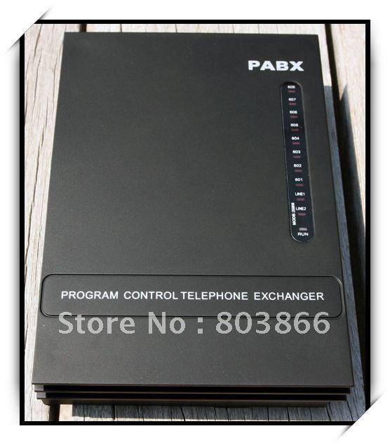 MINI PABX SV308 (3 lignes + 8ext.)/Système d'interrupteur téléphonique PBX