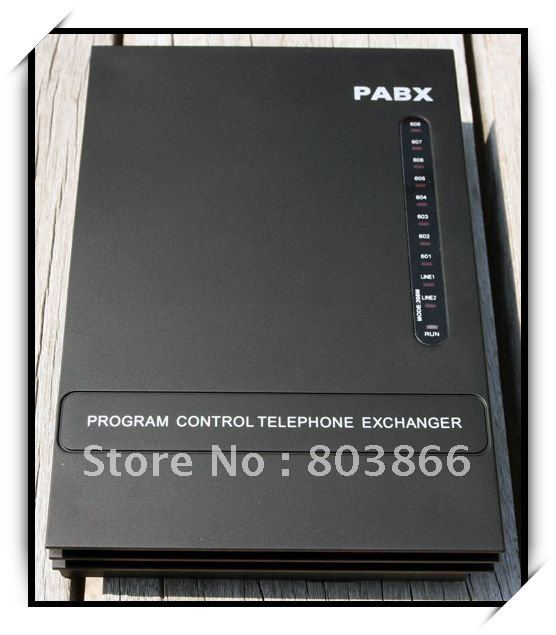 MINI PABX SV308 (3Lines+8ext.) / Telephone Switch system PBX new 3 lines 8ext pbx telephone switch mini pabx soho pbx small pabx free shipping
