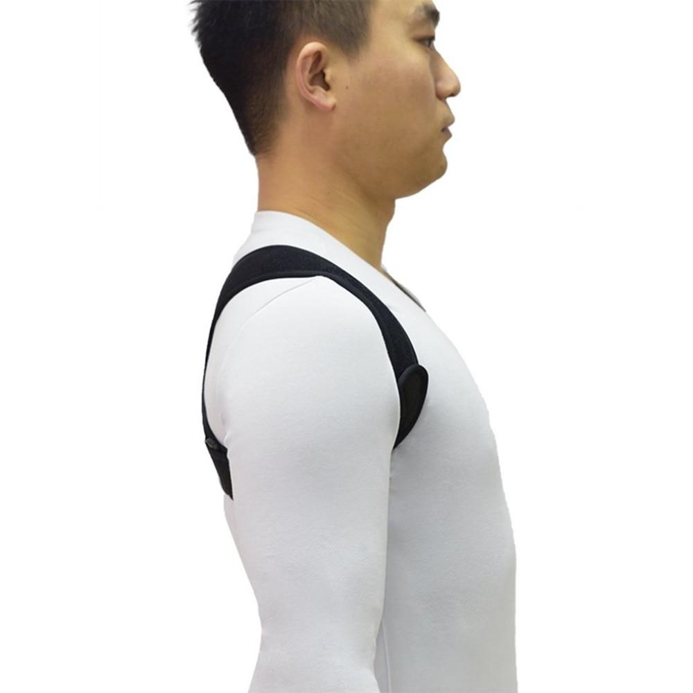 Регулируемый Корректор осанки ключицы позвоночника назад плечо Опора поясничной скобки пояс коррекции осанки предотвращает сползание