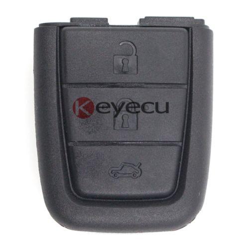 Keyecu 10 шт./лот Новый Дело дистанционного брелок 3 + 1 кнопка для Холден VE Commodore Omega Берлина Кале ss