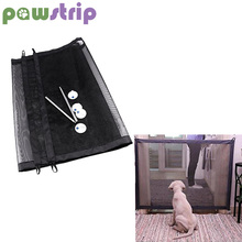 pawstrip Portable Folding Dog Mesh Gate Pet Isolation Fence Safety Puppy Enclosure Safe Guard Barrier Drop Shipping