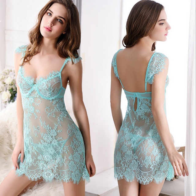 2016 sexy lingerie hot lace erotic lingerie+thongs S-L sexy babydoll lingerie sexy underwear chemise sexy costumes Pijama