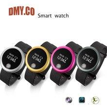 Dmyกันน้ำsmart watch s6 s mart w atch h eart rate monitor wrist bandสมาร์ทนอนจอภาพสำหรับiosและandroidโทรศัพท์