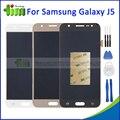 Para samsung galaxy j5 j500 j500f j500m j500y j500g display lcd touch screen digitador assembléia substituição preto ouro branco + ferramenta