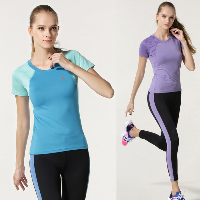 Professional Sportswear Workout Shirts For Women Gym Yoga Running