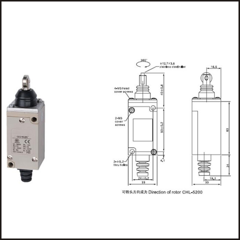 hight resolution of switch travel omron limit switch 10a 250v electrical safety key interlock switch compact prewired micro