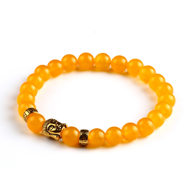 Tiger eye beads bracelet natural stone for women and men 1