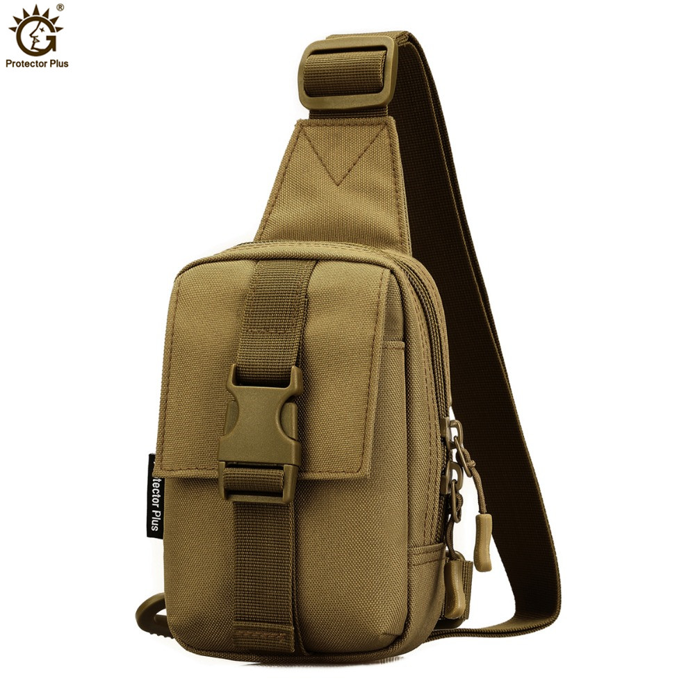 USB Charging Military Shoulder Bag Tactics Sling Bag Chest Pack MOLLE Nylon Waterproof Crossbody Back Pack Army bolsa