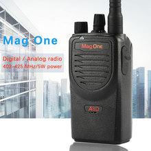 Mag One A8D walkie talkie A8 upgraded version of high power digital 5w two way radio UHF 403-425MHz portable handheld radio