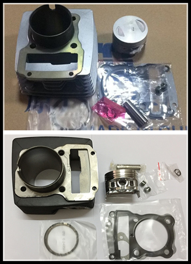 new motorcycle cylinder zontes zt150-8a hao jiang HJ150 cylinder piston assembly piston pin is 13mm diameter is 62mm