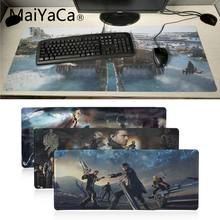 MaiYaCa Non Slip PC FF15 Final Fantasy Series mouse pad gamer play mats Anime Print Large Lockedge Gaming Mouse Pad for dota2 cs(China)