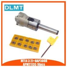Herramienta eléctrica de corte CNC para fresadora de cara BAP400R/BAP300R 50 22, Envío Gratis, novedad, 10 Uds., APMT1604/1135
