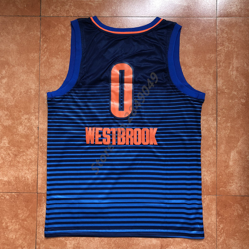 82feed30fc04 New Mens  13 Paul George  0 Russell Westbrook Throwback Basketball Jersey  US Size S XXL Stitched Best Quality -in Basketball Jerseys from Sports ...