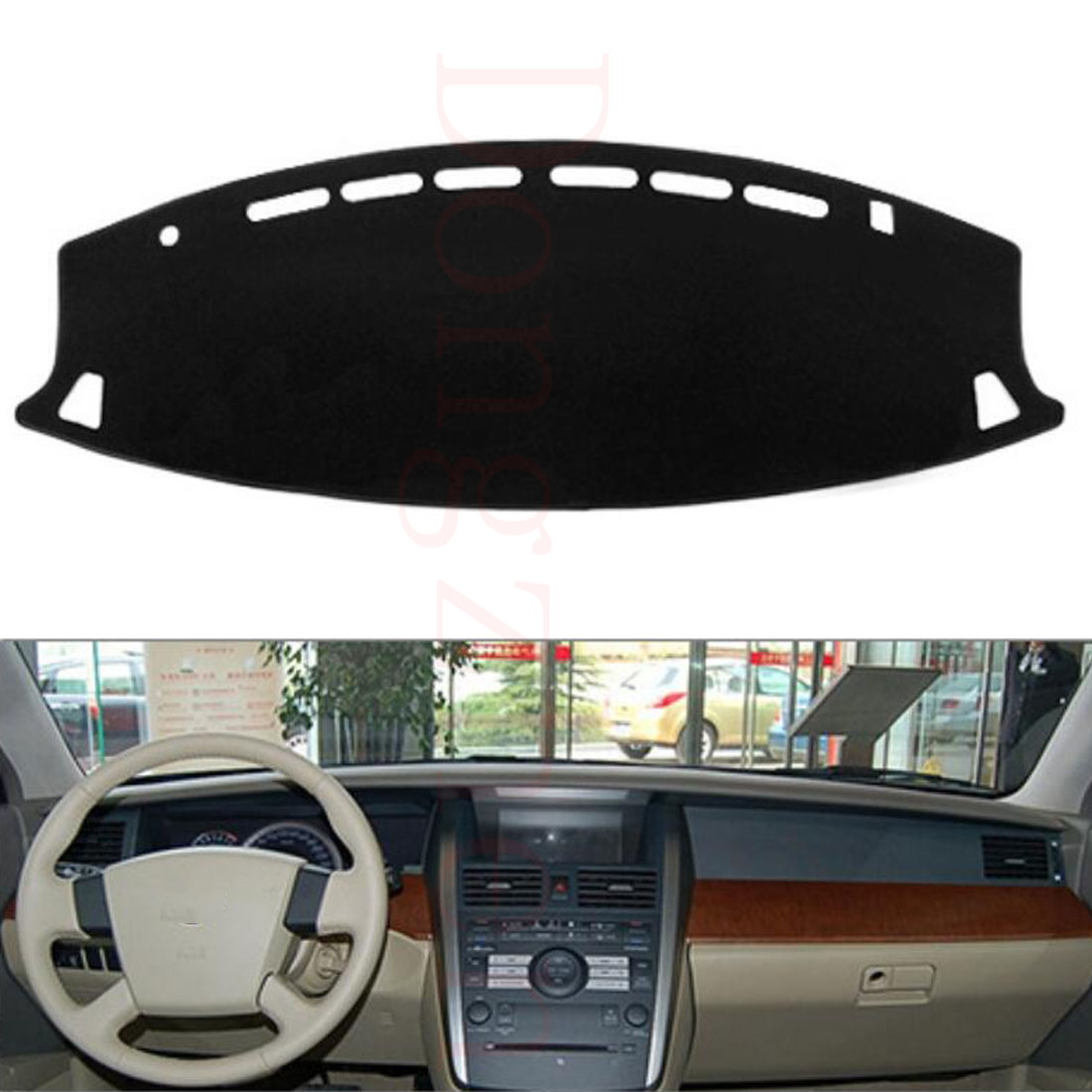 Dongzhen Fit For Nissan Teana 2004 to 2007 Car Dashboard Cover Avoid Light Pad Instrument Platform Dash Board Cover Car Styling