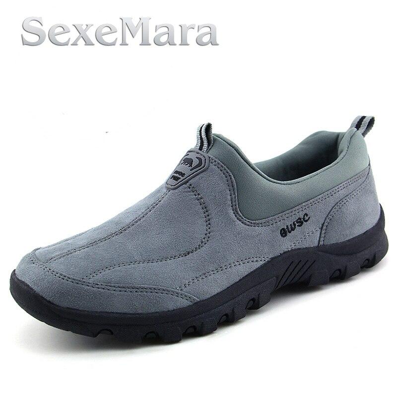 Los Hombres de moda Zapatos Cómodos de los Zapatos Ocasionales de Los Hombres Re