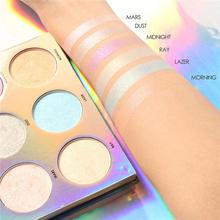 1 Pcs Focallure 3D High Light Powder Pallete Make Up Maquiagem Powder Beauty Makeup Chameleon Highlighter недорого