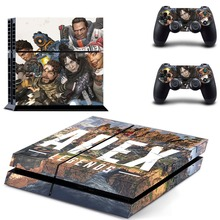 New APEX Legends PS4 Skin Sticker Decal for Sony PlayStation 4 Console and 2 controller skins PS4 Stickers Vinyl