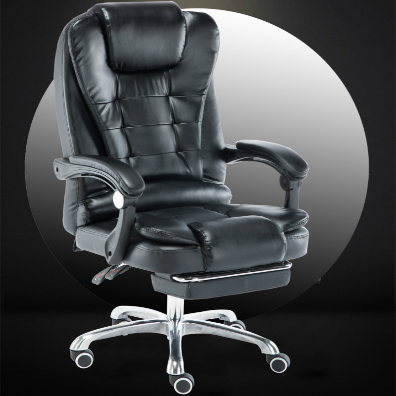 Office Computer Chair Super Soft Reclining Waist Massage Chair Household Meeting Boss Armchair Gaming Chairs Silla Gamer