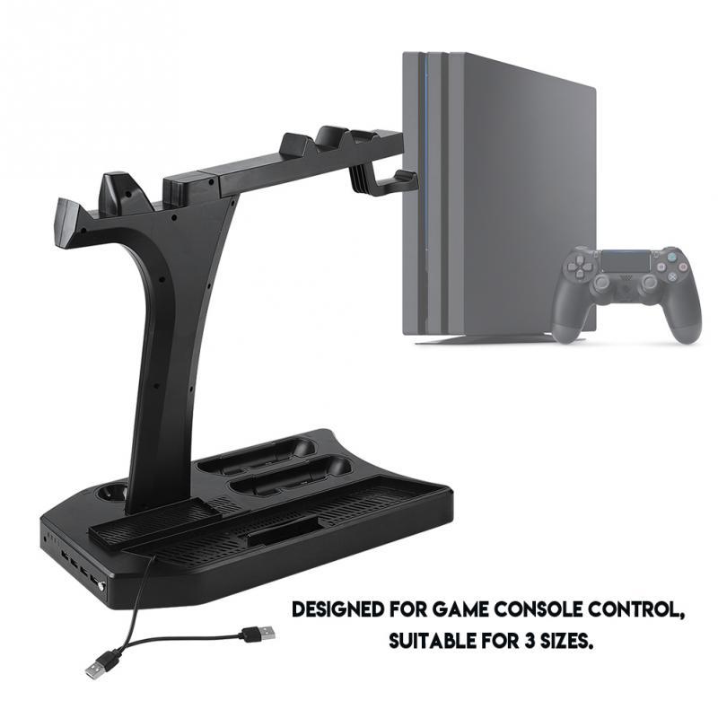 Multifonctionnel Stand pour Universal Disque De Jeu De Stockage Tour pour PS4/PS4SLIM/PS4 PRO/PS VR/PSVR2