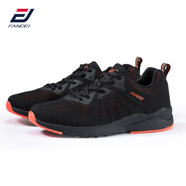 FANDEI Winter Running Shoes For Men Sneakers Sport Shoes for Male Outdoor Walking Sneaker Lace-up Breathable Mesh Mens Trainers 4