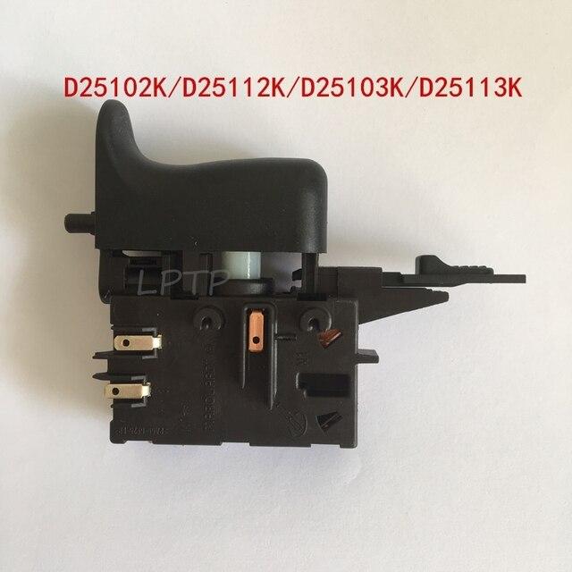 Schalter ersatz für DEWALT D25102K D25101K D25103K D25104K D25112K D25113K D25114K D25123K DWC24K3 DWEN102K DWEN103K BOHRER
