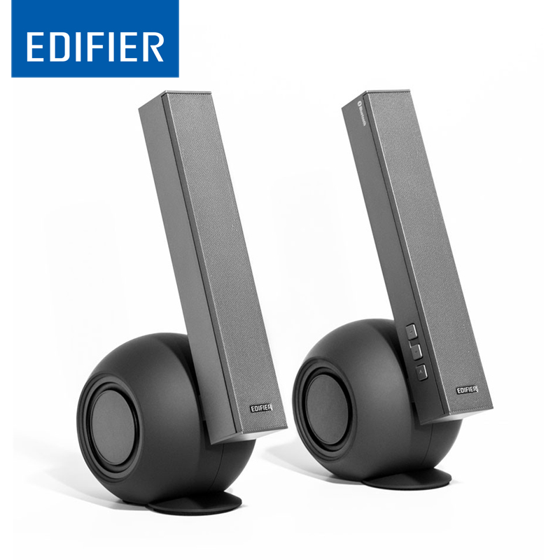 US $149 99 |Edifier e10BT Exclaim Bluetooth Speakers with Dual Bass  Wireless Home Speaker System -in Portable Speakers from Consumer  Electronics on