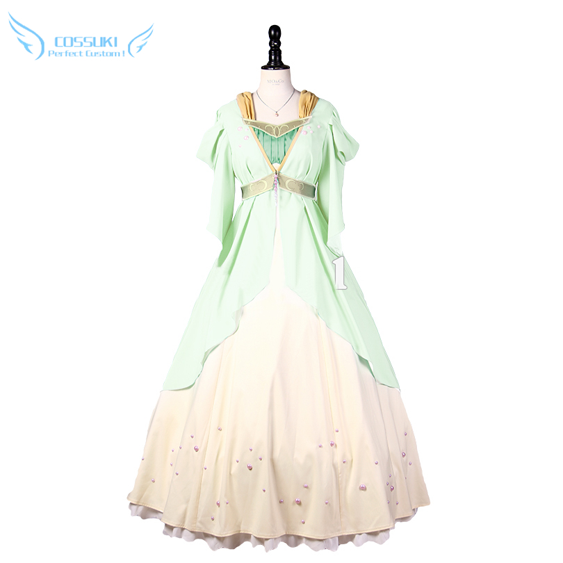 Snow White with the Red Hair Shirayuki Cosplay Costume Stage Performence Clothes , Perfect Custom for You !
