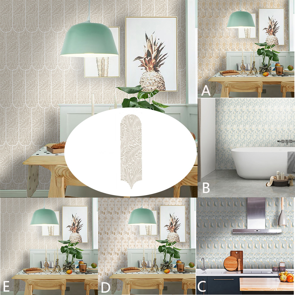 Wall Stickers Romantic Flower Pattern Wall Sticker Creative Affixed With Decorative Wall Window TV Wall Stickers For Bedroom 45#