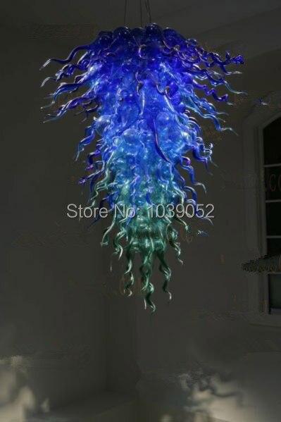 Бесплатная доставка красивые голубые кристаллы Люстра Продажа