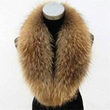 2018Fur Fashion Super raccoon fur collar real fox fur hat female support custom Free Shipping