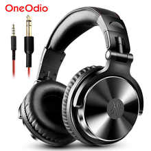 Oneodio Over Ear Headphones Hifi Studio DJ Headphone Wired Monitor Music Gaming Headset Earphone For Phone Computer PC With Mic - DISCOUNT ITEM  55% OFF All Category