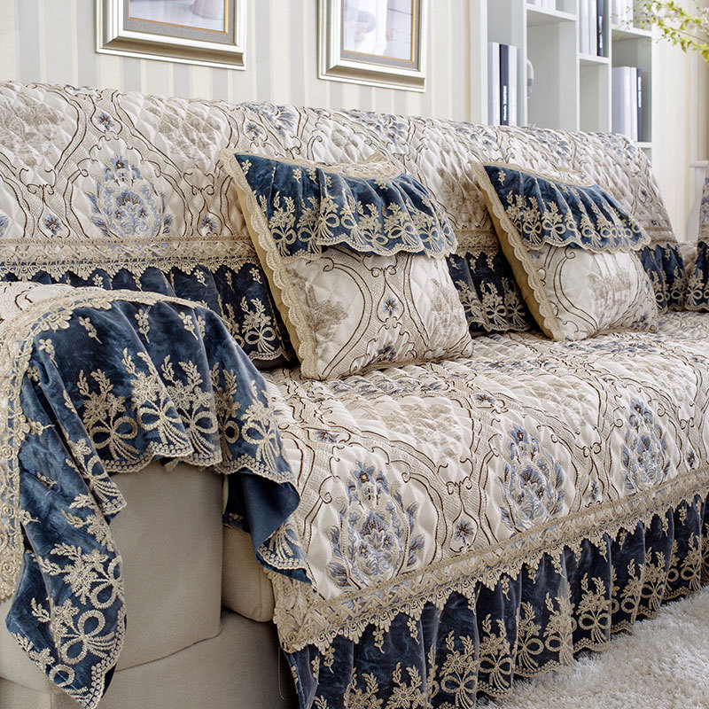 Super Us 8 57 18 Off Creative Floral Sofa Covers For Sectional Sofa Cover Universal Sofa Cover L Shape Slipcovers Couch Sofa Furniture Protectors Dec In Gmtry Best Dining Table And Chair Ideas Images Gmtryco