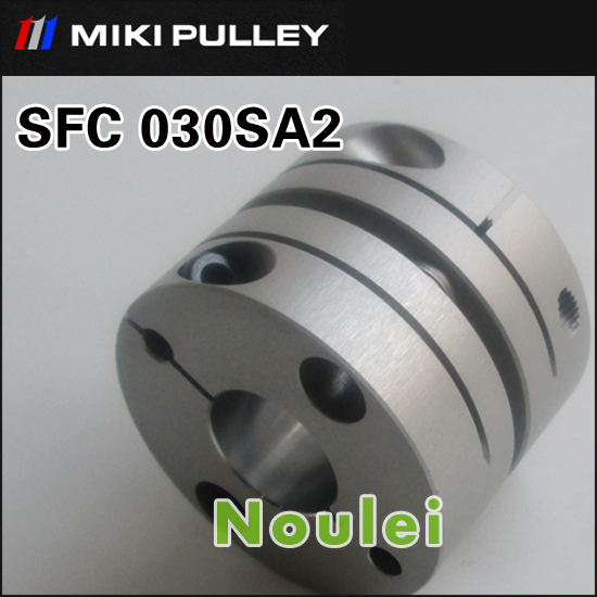 MIKI PULLEY OD 34x27.3mm accouplement flexible connector Single Disc type Shaft Coupler 10mm to 10mm аксессуары для ванной комнаты other od 25 shower pulley