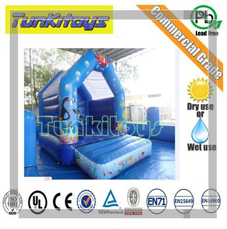 Mini Residential Bouncy Castle Moonwalk Jump Bounce House Inflatable Bouncer Outdoor Kids Toys Sports GameMini Residential Bouncy Castle Moonwalk Jump Bounce House Inflatable Bouncer Outdoor Kids Toys Sports Game