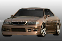 FRP Body Kit For Toyota JZX100 MARK Ⅱ (1996 2000) TRMT1 Style Glass Fiber Front Bumper/Rear Bumper/Side Skirt Tuning Trim