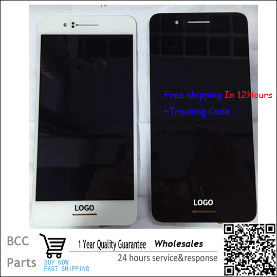 BEST quality Original Black White LCD display touch screen digitizer +frame For HTC desire 728 728G with LOGO & tracking number