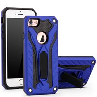 New Stylish Hot Selling for Samsung S8 Phantomrider Anti Knock Kickstand Dirt Proof Strong PC and TPU Business Phone Case