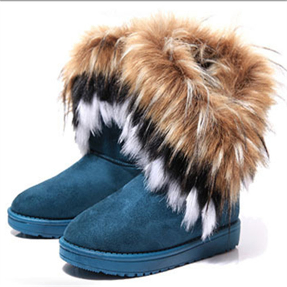 Women Snow Boots Plus Size Faux Fur Winter Ankle Boots Sewing Flats Female Comfort Footwear Platform Shoes Black Women ShoesWomen Snow Boots Plus Size Faux Fur Winter Ankle Boots Sewing Flats Female Comfort Footwear Platform Shoes Black Women Shoes