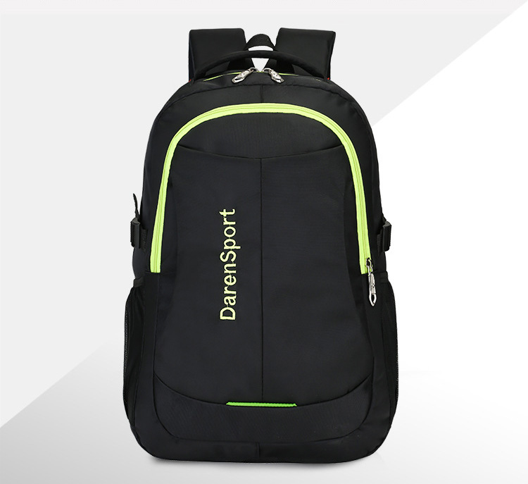 ZHIERNA Shoulder Bag Student backpack Simple Large Capacity For Men Casual Computer Bag Hit Color Business and casual Fashion