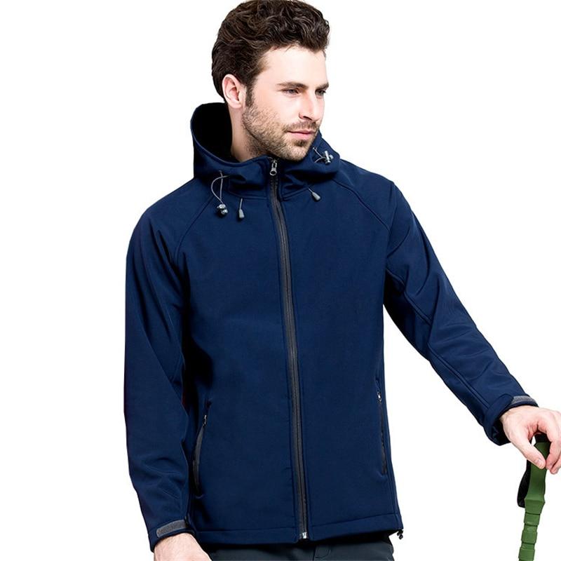 IEMUH Outdoor Soft Shell Fleece Jacket Ерлер Polartec - Спорттық киім мен керек-жарақтар - фото 2