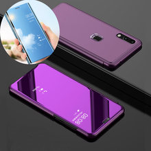 Luxury Smart View Case for Xiaomi Redmi Note 5 Pro Note 6 Pro Redmi 5 Plus Note 4X Note 4 Back Cover Smart View Mirror(China)