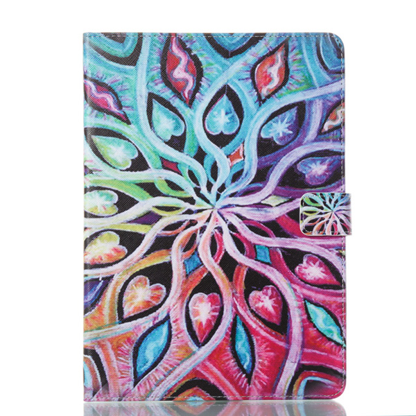 Tablet T350 T351 Funda For Samsung Galaxy A 8.0 Inch Fashion Mandala Leather Flip Wallet Case Cover Coque Shell 8.0\